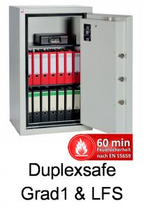 Duplexsafe SilberPro Grad 1 und LFS 60 P