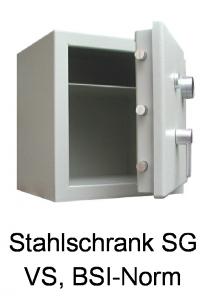 Stahlschrank SG/VS nach BSI-Norm