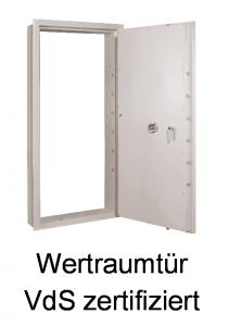 Wertraumtür VdS-zertifiziert