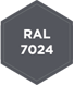 Standardlackierung RAL 7024 - Graphitgrau