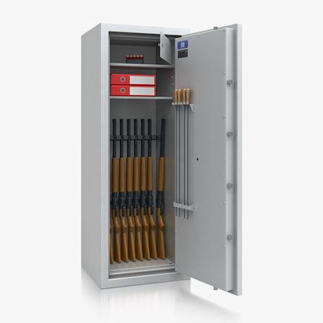 Waffenschrank WF 5550-2 Widerstandsgrad N/0 nach EN 1143-1