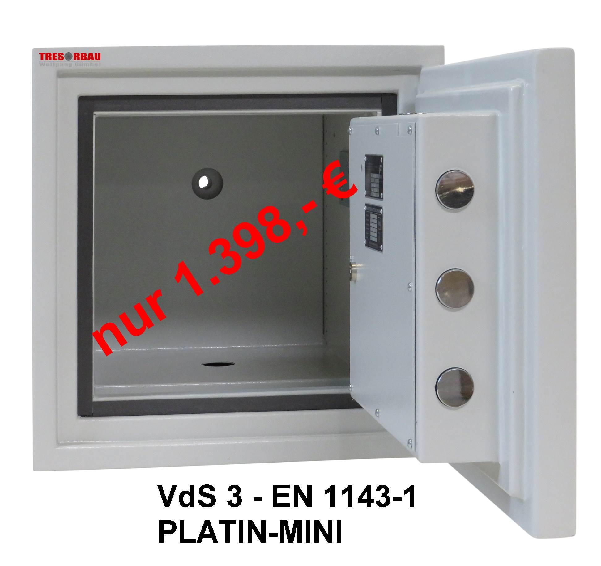Wertschutzschrank PLATIN-Mini VdS 3